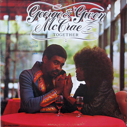 "George McCrae ""Together"" LP Sealed"