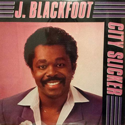 """J. Blackfoot """"City Slicker"""" LP (Sealed)"""