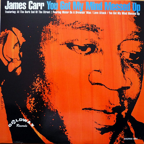 "James Carr ""You got my mind messed up"" LP (SEALED)"