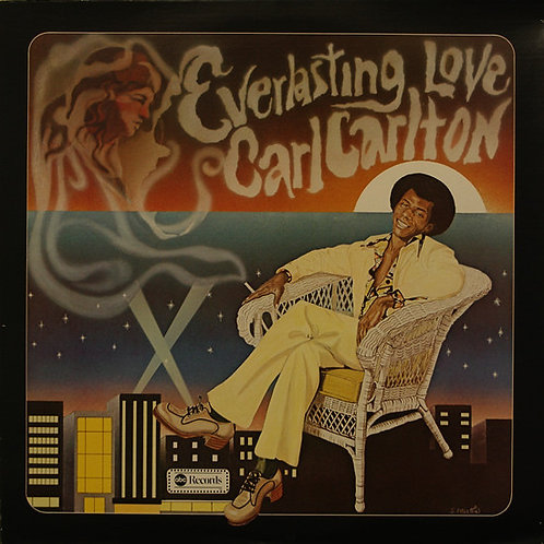 "Carl Carlton ""Everlasting Love"" LP (SEALED)"