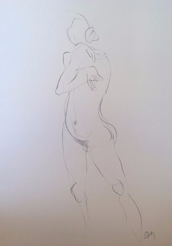 life drawing11-2min Croquis