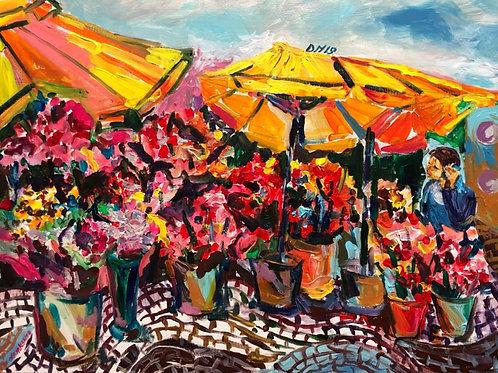 Florist in Rossio square 2