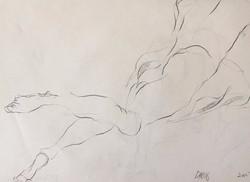 life drawing40-3min Croquis