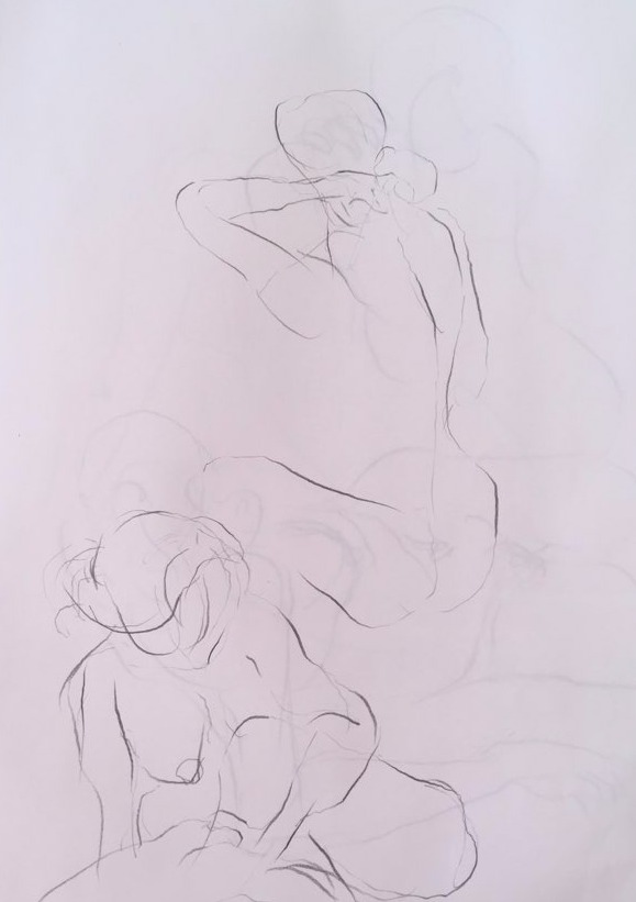 life drawing17-2min Croquis