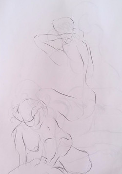 life drawing17-2min Croquis