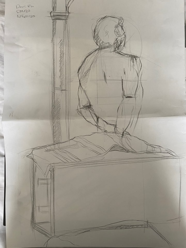 45min Life Drawing