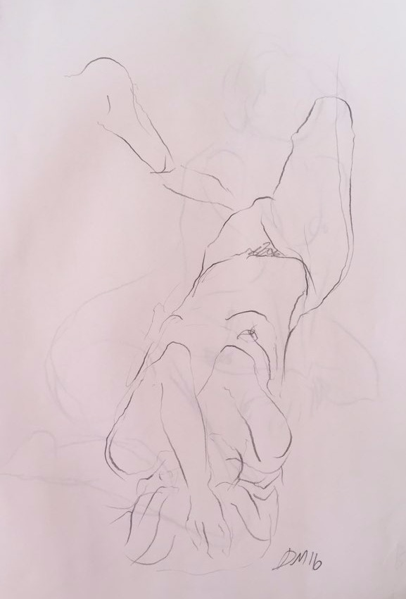 life drawing26-2min Croquis
