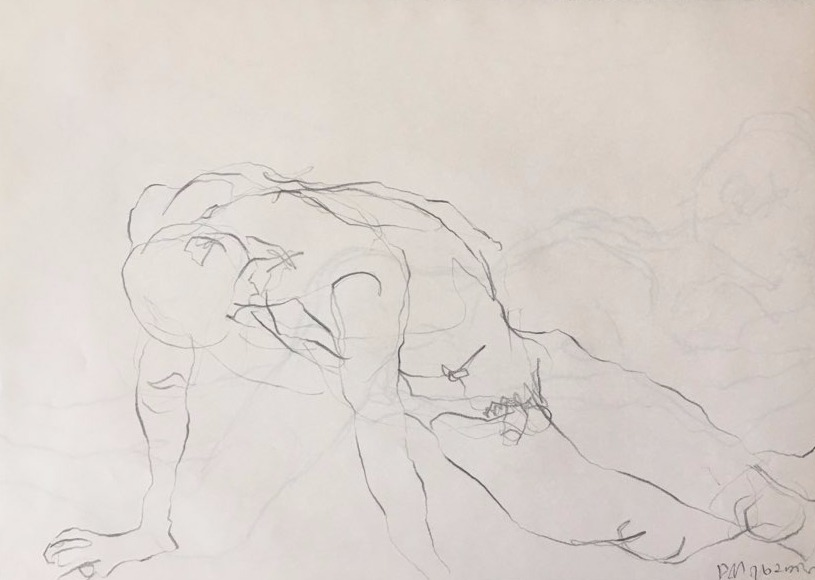 life drawing29-3min Croquis