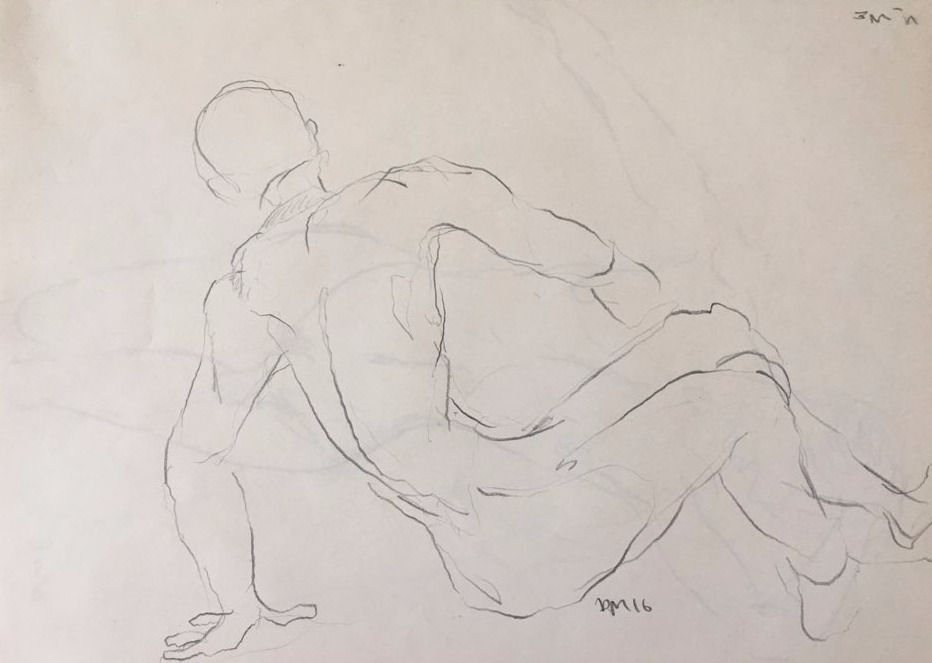 life drawing35-3min Croquis(P)