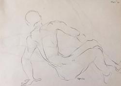 life drawing35-3min Croquis(P)