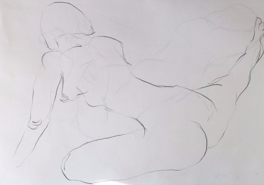 life drawing20-3min Croquis