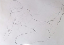 life drawing20-3min Croquis