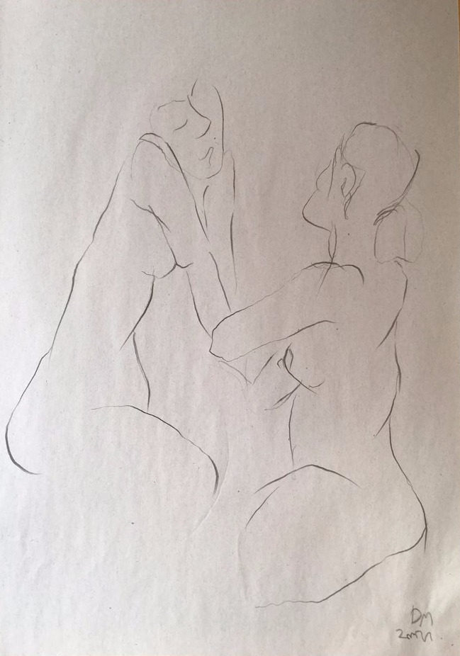 life drawing45-3min Croquis