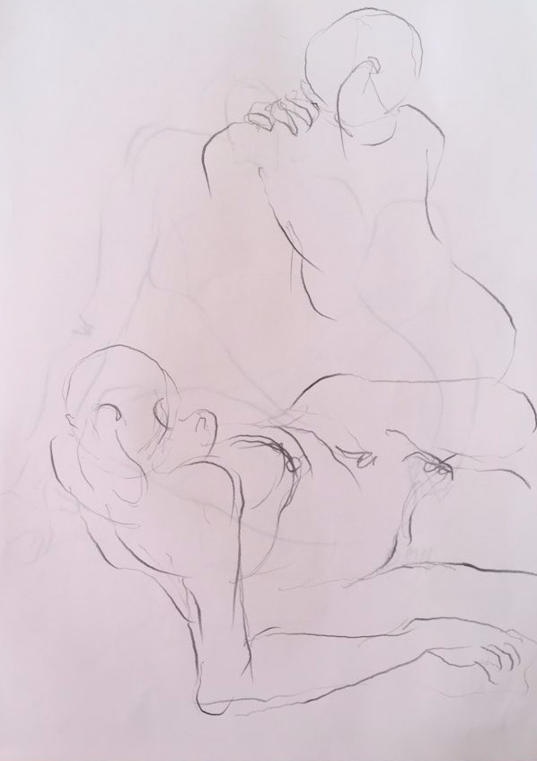 life drawing25-3min Croquis