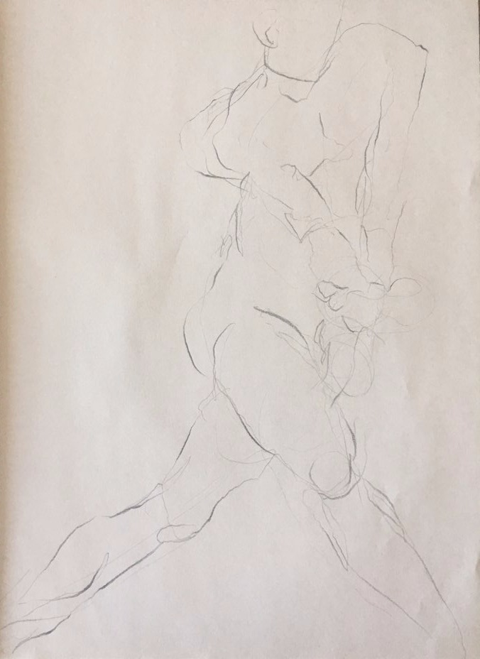 life drawing34-3min Croquis