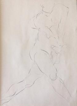 life drawing34-3min Croquis