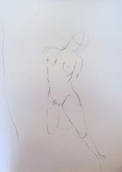 life drawing2-3min Croquis