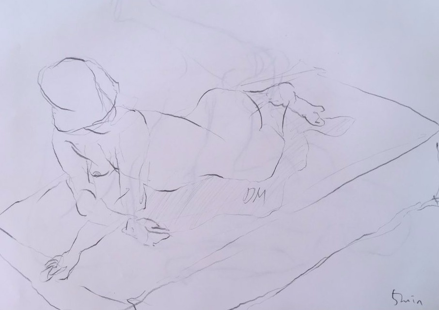 life drawing27-5min Croquis