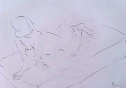 life drawing27-5min Croquis