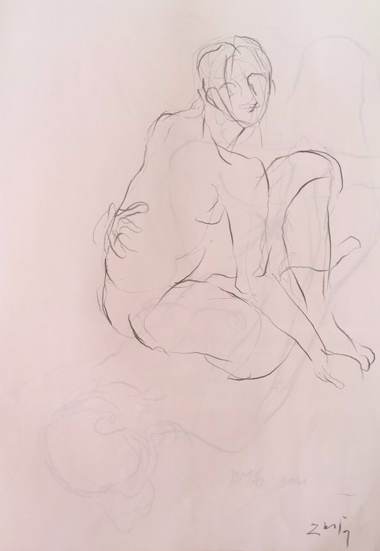 life drawing15-3min Croquis