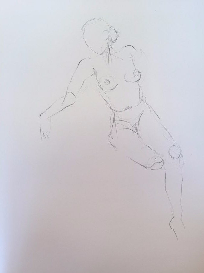 life drawing5-3min Croquis
