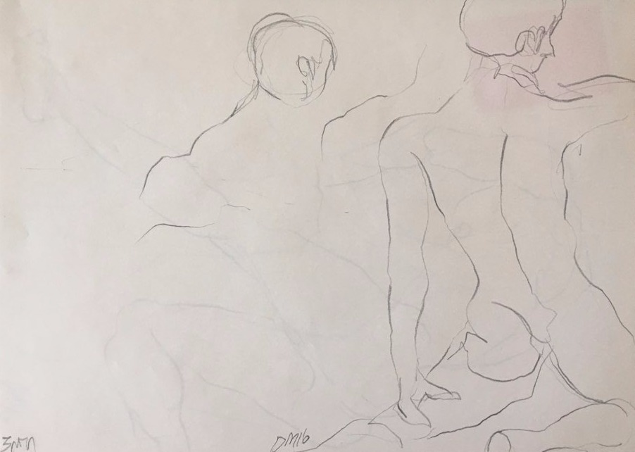 life drawing28-3min Croquis