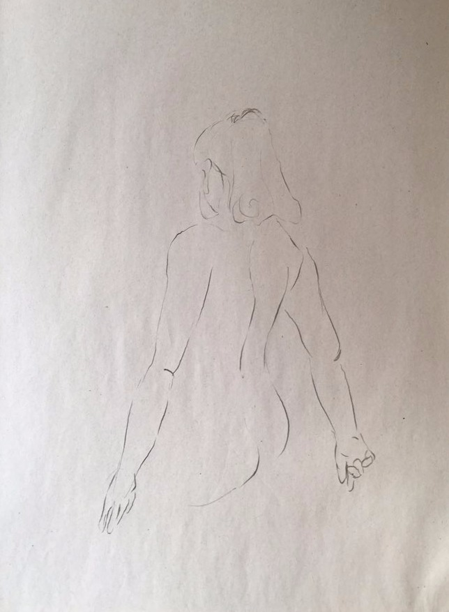life drawing50-3min Croquis