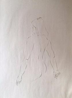 life drawing50-3min Croquis