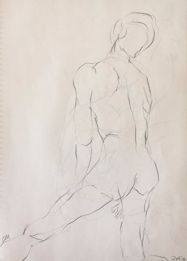 life drawing30-3min Croquis