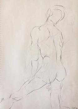 life drawing30-3min Croquis