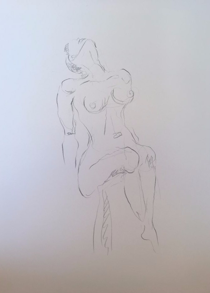 Life Drawing22-2min Croquis