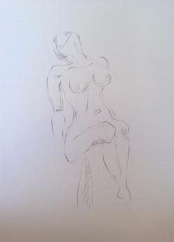Life Drawing22-2min Croquis