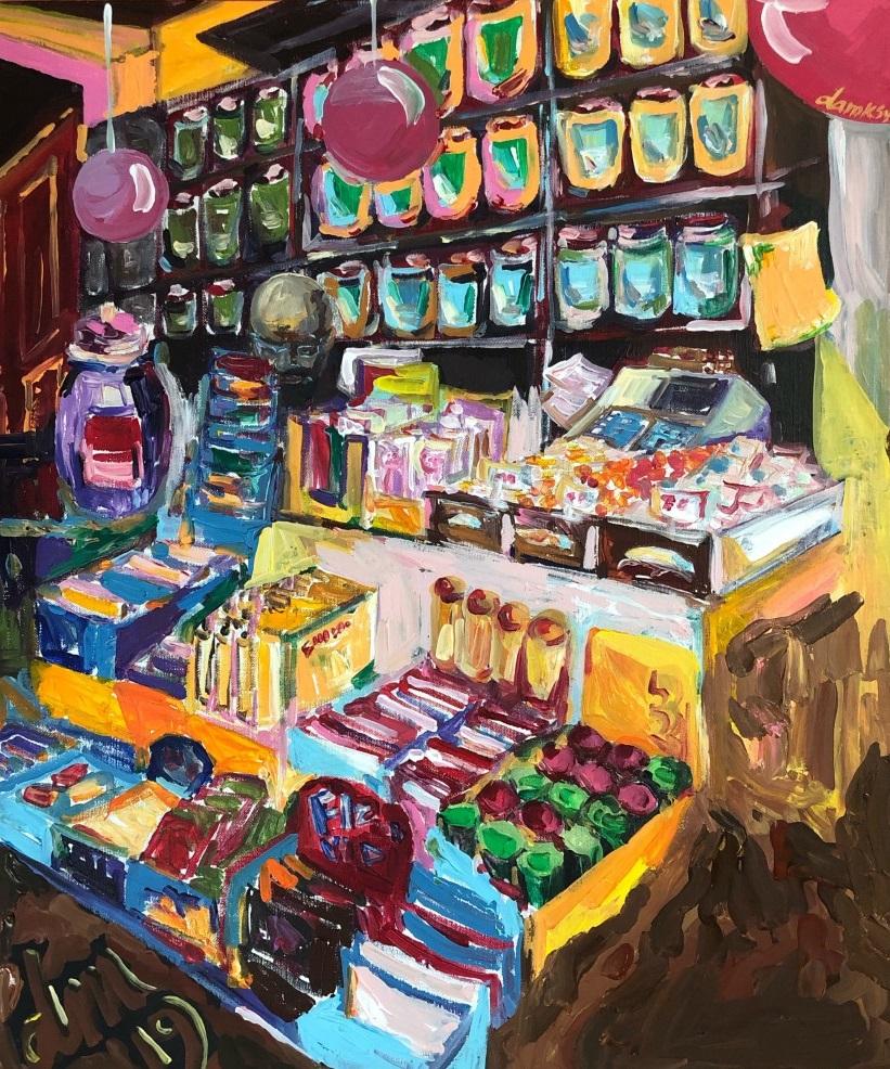 Candy shop in Haworth