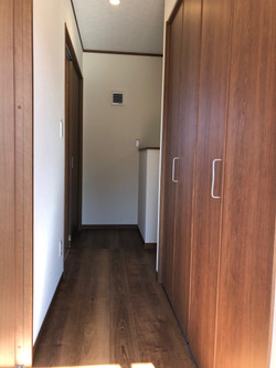 陸前高田市の新築住宅 廊下