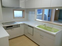 陸前高田市の新築一戸建て キッチン