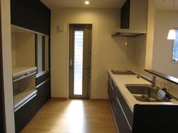 陸前高田市の新築住宅 キッチン