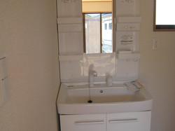 陸前高田市の新築住宅 洗面化粧台