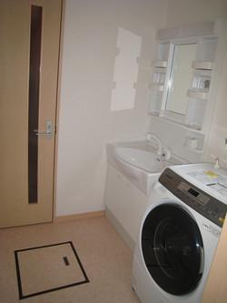 大船渡市の新築住宅 洗面所