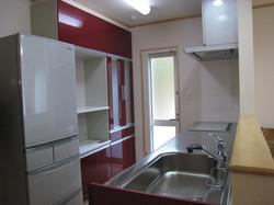 大船渡市の新築住宅 キッチン