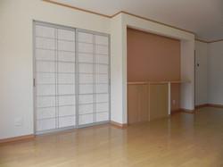 陸前高田市の新築住宅 リビング収納