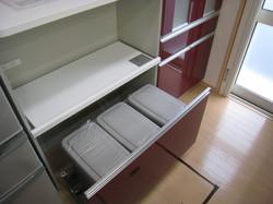 大船渡市の新築住宅 キッチン収納