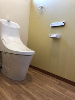 陸前高田市の新築住宅 トイレ