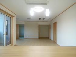 陸前高田市の新築一戸建て リビングダイニング