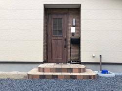 陸前高田市の新築住宅 玄関
