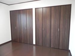 陸前高田市の新築住宅 クローゼット