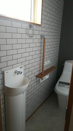 陸前高田市の新築住宅 トイレⅡ