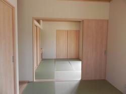 陸前高田市の新築住宅 和室