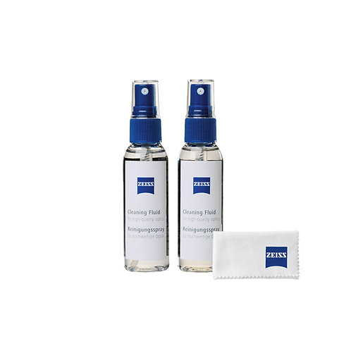 Zeiss Cleaning Fluid with MicroFiber cloth