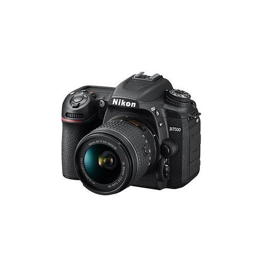 Nikon D7500 + 18-55mm VR Kit