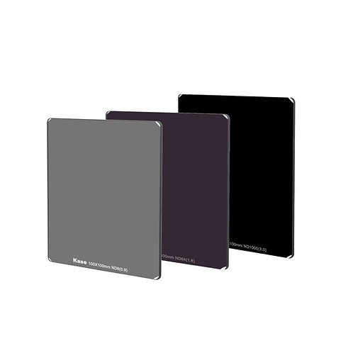 Kase Square ND filters kit include ND8 + ND64 + ND1000